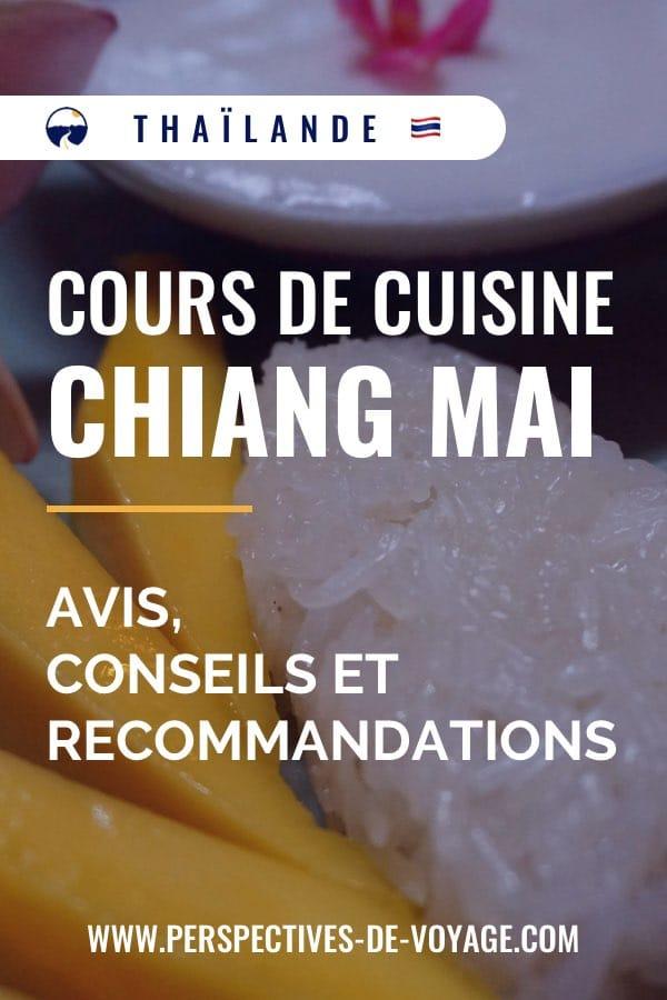 Cours de cuisine à Chiang Mai : Avis, conseils et recommandations