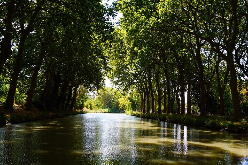 Photographie du Canal du Midi à Carcassonne