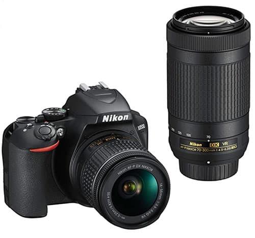 image d'un appareil photo reflex