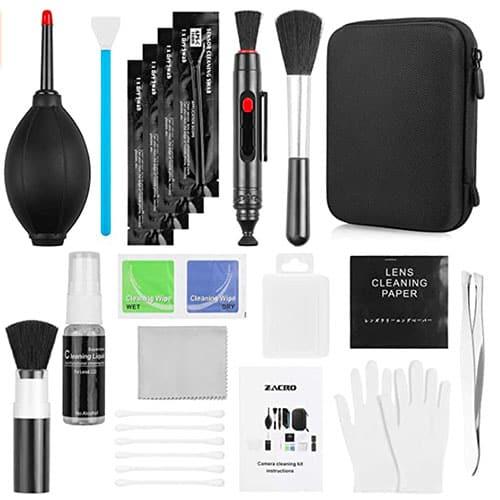 image d'un kit de nettoyage pour appareil photo