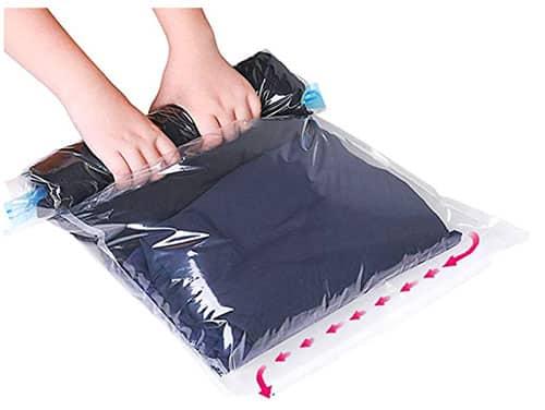 image d'un sac de rangement sous vide