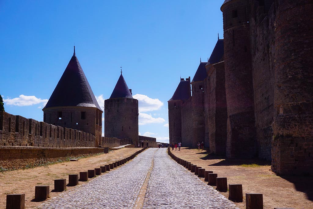 Les lices de la cité de Carcassonne