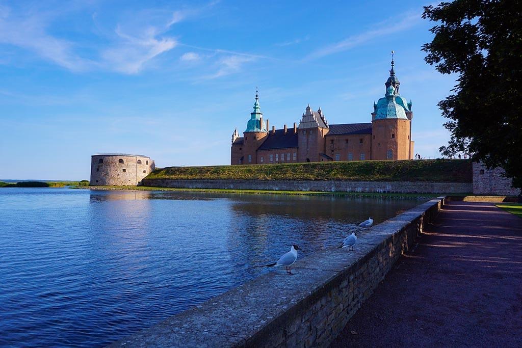 Photo du château de Kalmar en Suède
