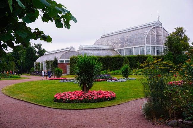 Photo du jardin botanique de Goteborg en Suède