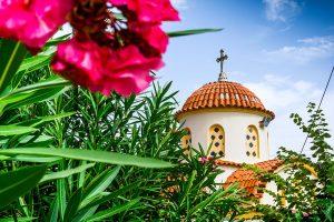 Photographie d'un monastère en Crète