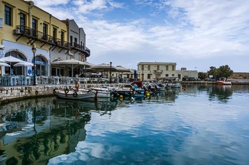 Photographie du port de Rethymnon