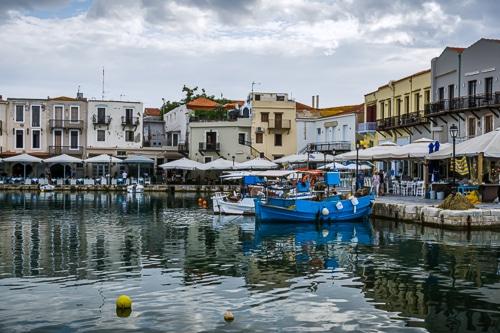 Photographie de la vieille ville de Rethymnon
