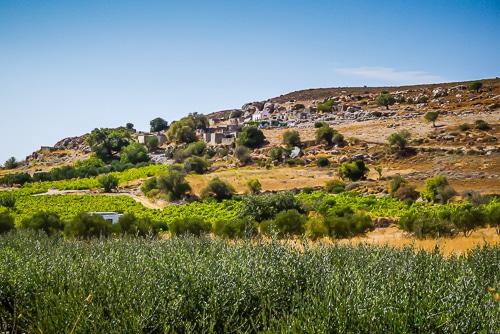 Photographie d'un paysage lors d'un road trip en Crète