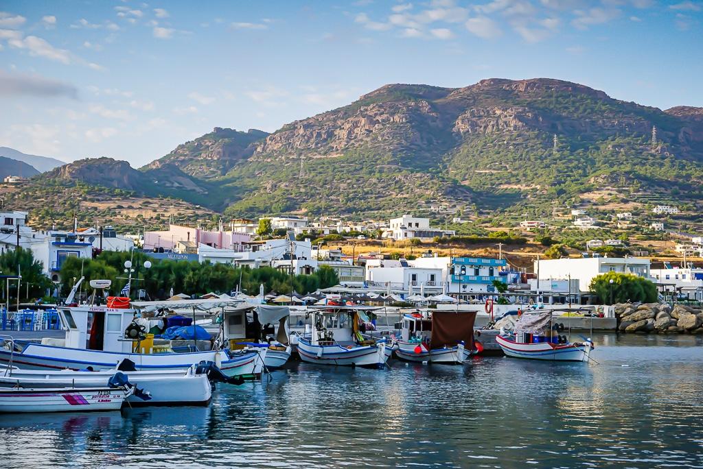 Photographie du port de Makry Gialoos