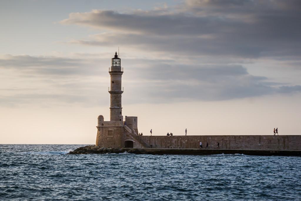 Photographie du phare de La Canée en Crète