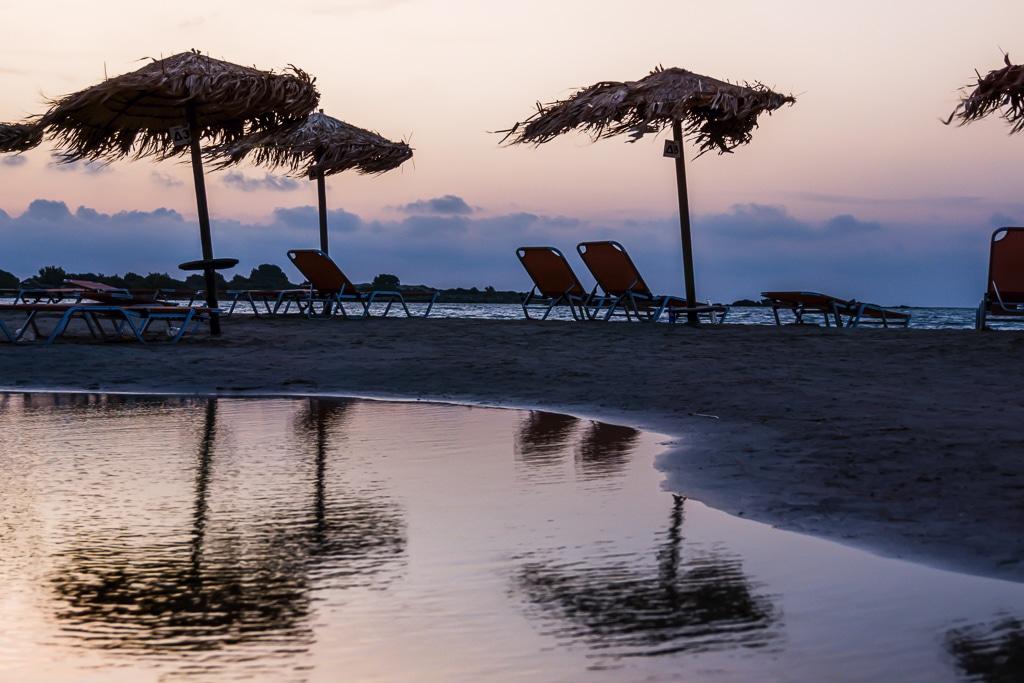 Photographie de la plage d'Elafonisi en Crète