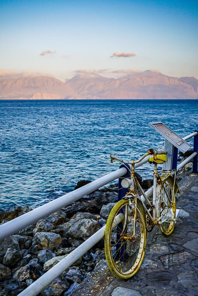 Photographie de la promenade d'Agios NIkolaos