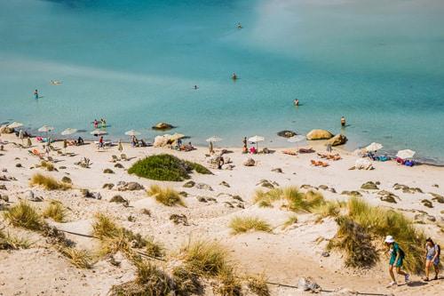 Photographie de la plage de Balos Beach