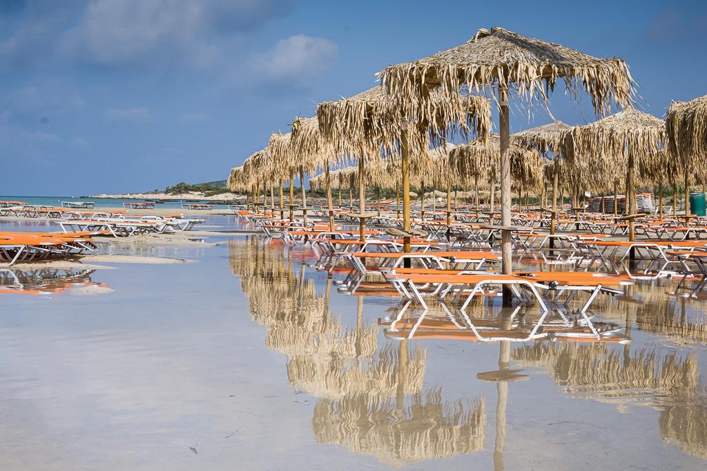 Photographie d'une des plus belles plages de Crète