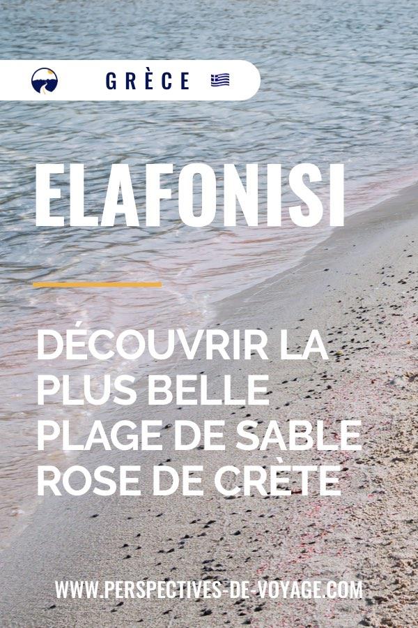 Elafonisi : découvrir la plus belle plage de sable rose de crète
