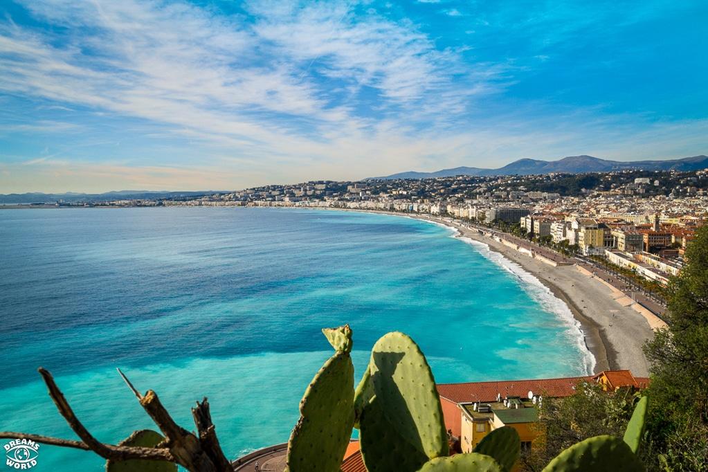 Photographie de la promenade des anglais à Nice