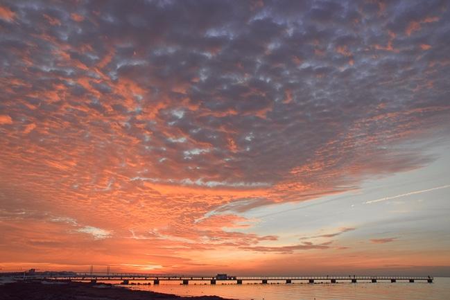 Photographie de la plage de Malmo, l'une des plus belles plages de Suede et d'Europe