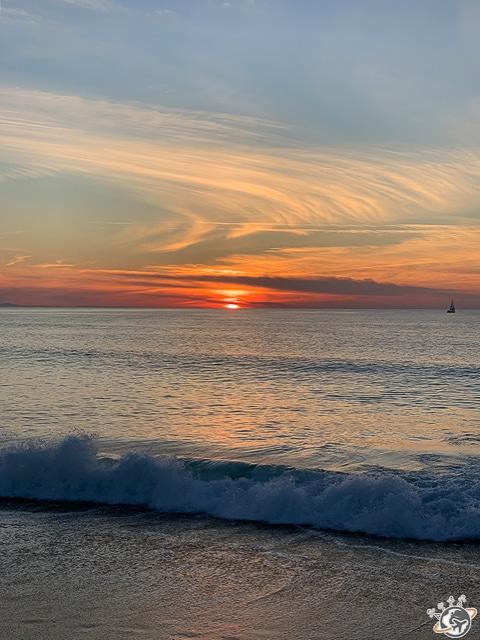 Photographie d'une des plus belles plages d'Europe au Cap Breton en France