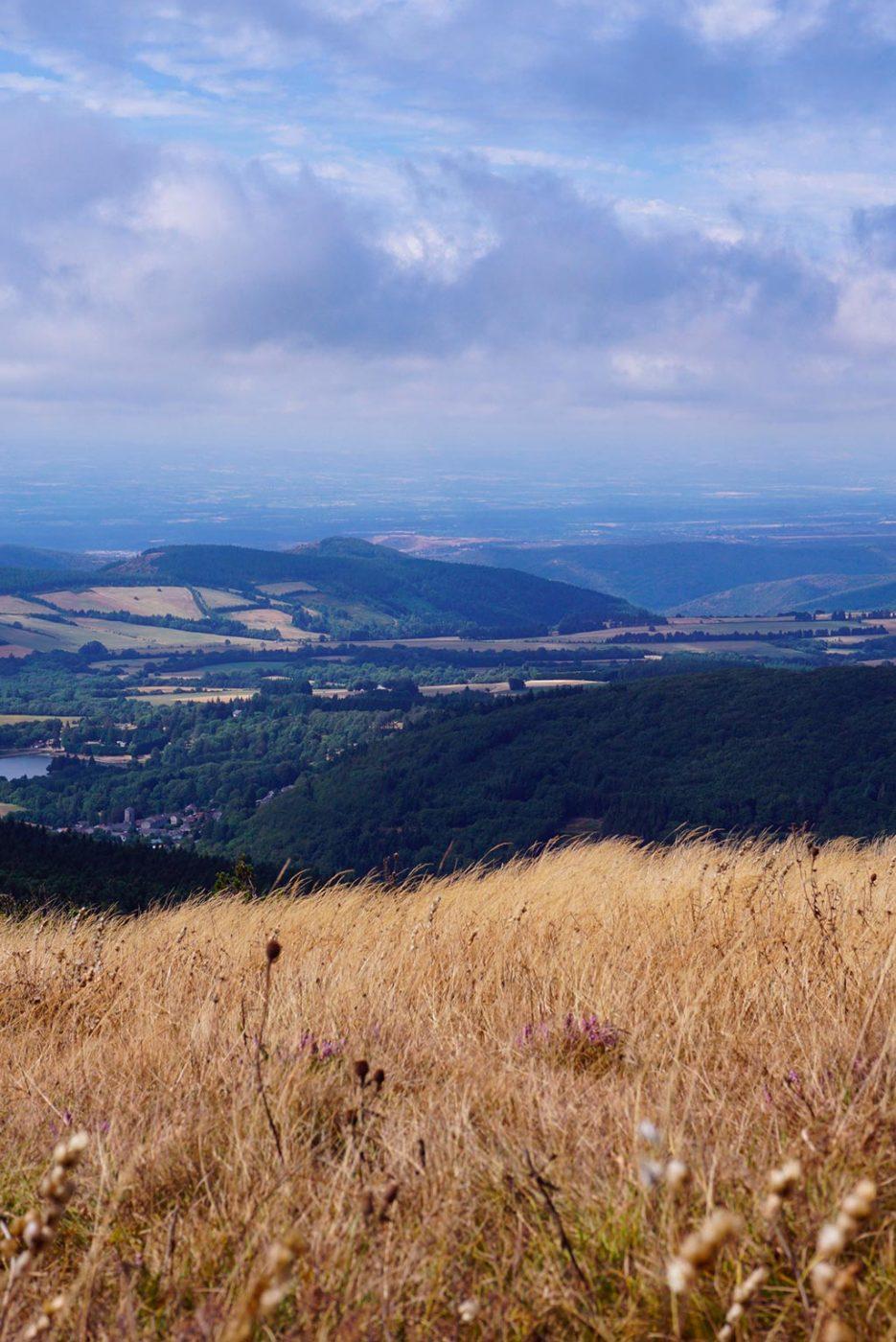 Photographie depuis le pic de Nore, point culminant de la Montagne Noire