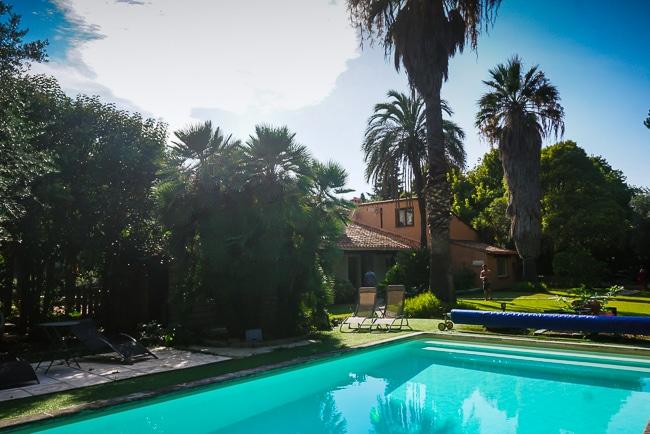 Photographie de la piscine de la ville saint andre idealement situee pour visiter collioure