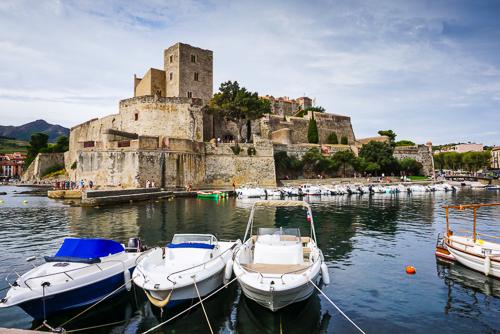 Photo du centre de Collioure
