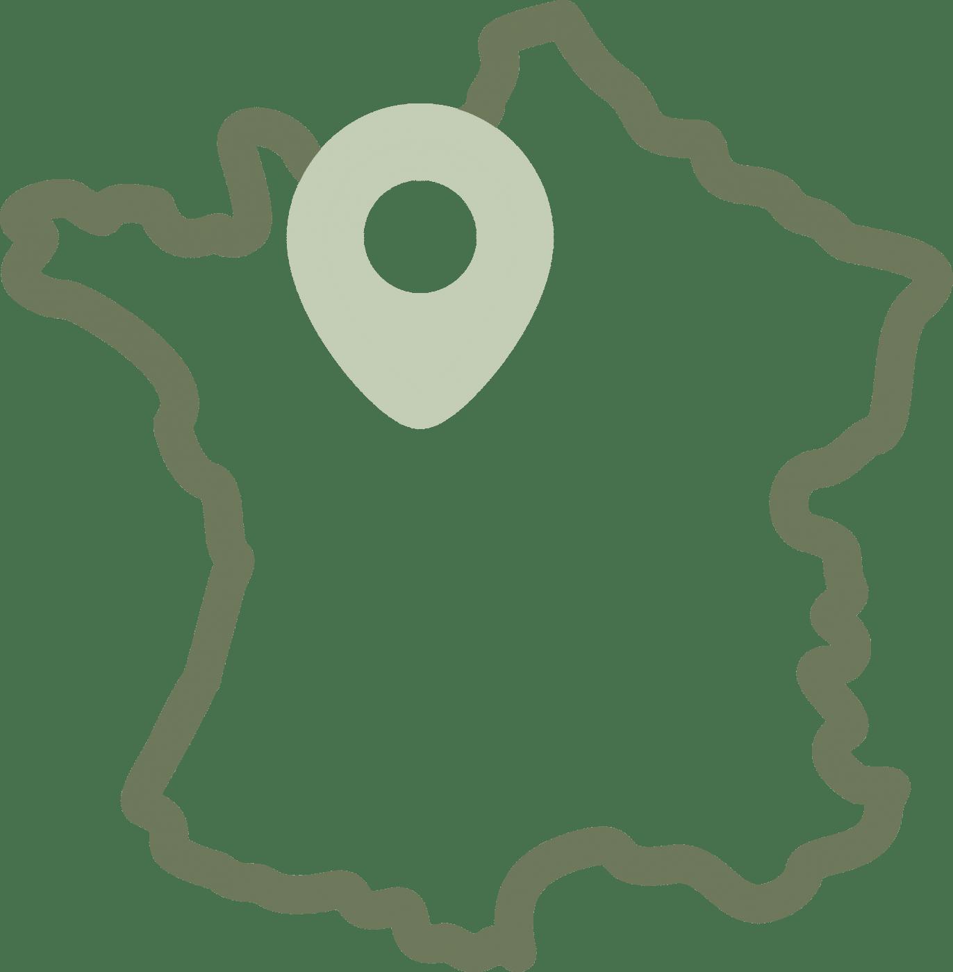 Icone carnet de voyage conçu en France