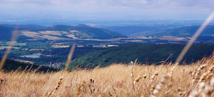 Photographie au sommet de la Montagne Noire au pic de Nore
