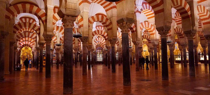 Photographie de la mosquee cathedrale de Cordoue, Andalousie